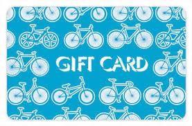 Bike Parts Gift Certificate