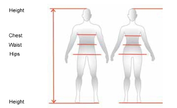 Size Chart Apparel