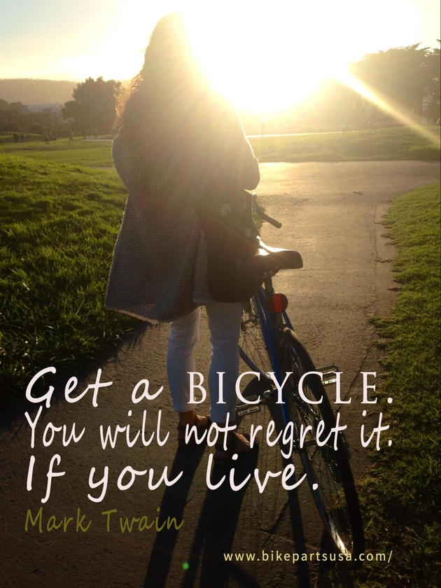 Get a bicycle