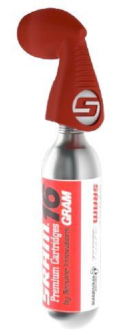 PUMP SRAM Co2 MINI TWIST RED w/Co2