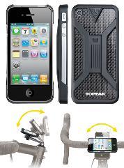 BAG TOPEAK iPHONE RIDE CASE BLACK iPhone4