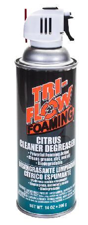 CLEANER TRI-FLOW DEGREASER 14ozCITRUS FOAMING