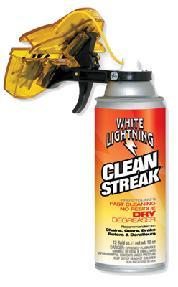 TOOL CHAIN CLEANER WHITE LIGHTNG TRIGGER12oz CLNSTREAK 6/bx