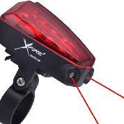 LIGHT XFIRE REAR 5-LED wLASER