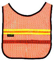 SAFETY VEST Y-RACER REFLECTIVE OR/YL