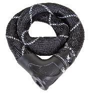 LOCK ABS CHAIN 8210 KEY 8x85cm BLACK IVEN STEEL-O-CHAIN