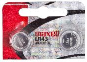 BATTERY MAXELL LR43 / LR1142 1.5