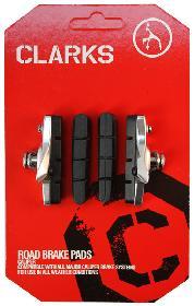 BRAKE SHOES CLK RD 52mm SHI BOwXTRA PADS