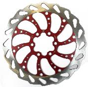 BRAKE PART CLK DISC ROTOR 6B WAVEY