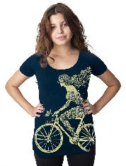 CLOTHING T-SHIRT CWG MERMAID BIKE LAD