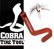 TOOL TIRE LEVERS COBRA UNBREAK NYLON RED