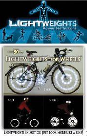 REFLECTOR LW SAFETY WHEELS 86pc