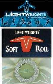 REFLECTOR LW SAFETY SOFT ROLL 100in SIL