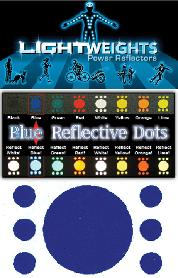 REFLECTOR LW SAFETY DOTS 7pc