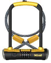 LOCK OG U 8012C BULLDOG DT STD COMBO wCABLE 5x9/4fx10mm