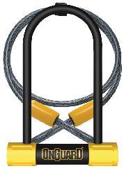 LOCK OG U 8015M BULLDOG MED DT wCABLE  3.5x6.9/4fx10mm