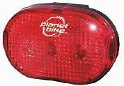 LIGHT PB REAR BLINKY-3 3-LED 200 HR
