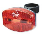LIGHT PB REAR BLINKY-5 wRK MNT
