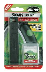 PATCH KIT SKABS w/2-TIRE LEVERS GLUELESS12/CASE